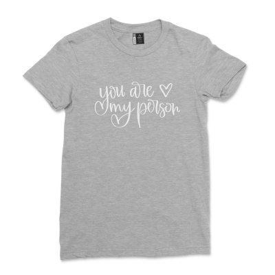 You Are My person Best friends Shirt Casual Soul Sisters T-shirt Plus Size Bestie tshirt Comfy friendship Tee