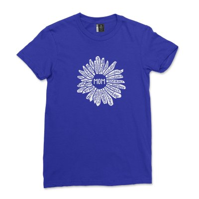 Floral Mom Life Shirt Mothers Day Gift Sunflower Mommy T-Shirt Mom Definition Tee Funny Mama Minimalist tshirt