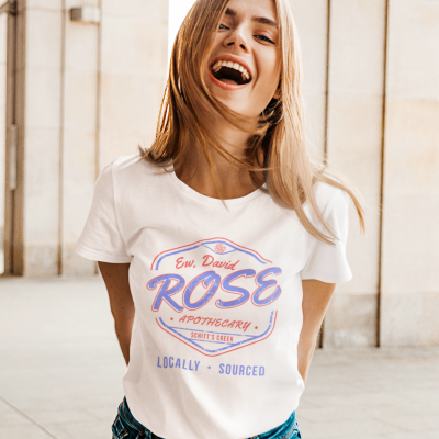 Rose Apothecary Shirts for Women Rose Printed Novelty Shirt Summer Funny Short Sleeve Holiday Tee Tops