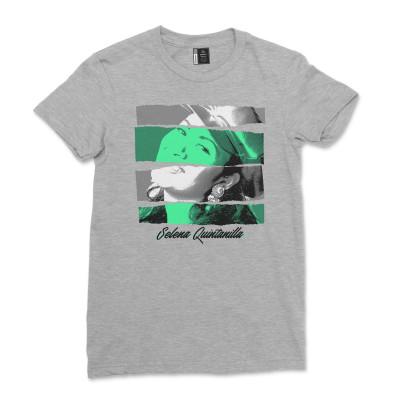 Selena Quintanilla Shirt Casual Short Sleeve Cotton T-Shirt for Women