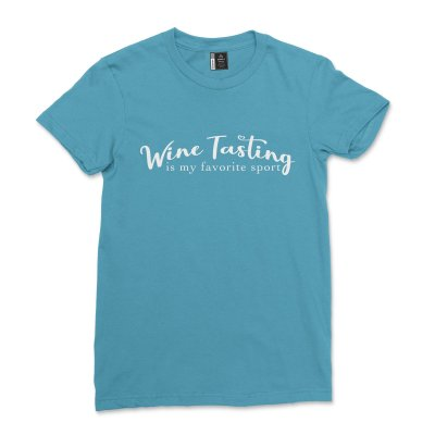 Wine Tast Is My Favorite Sport Shirt Casual Winery Tour Vineyard T-Shirt Comfy Short Sleeve Wine Lover Gifts Tee
