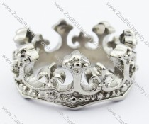Stainless Steel An crown Ring -JR330013