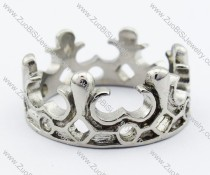 Stainless Steel An crown Ring -JR330012
