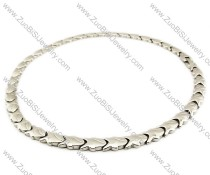 Stainless Steel Magnetic Necklace - JN250003