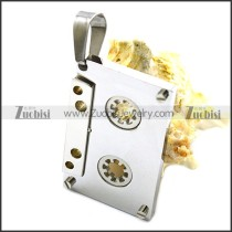 Stainless Steel Pendant p010240