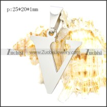 Stainless Steel Pendant p010415