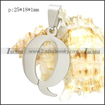 Stainless Steel Pendant p010410