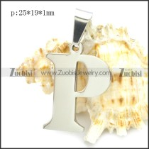 Stainless Steel Pendant p010409
