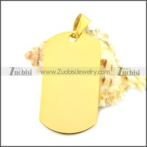 Stainless Steel Pendant p010488G2