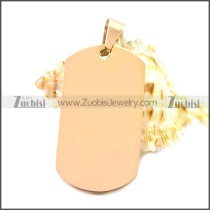 Stainless Steel Pendant p010488R