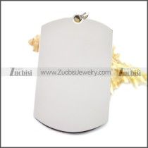 Stainless Steel Pendant p010488S1