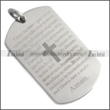 Stainless Steel Pendant p010436S2