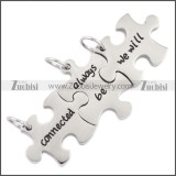 Stainless Steel Pendant p010484S2
