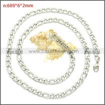 Stainless Steel Chain Neckalce n003087SW6