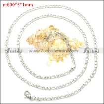 Stainless Steel Chain Neckalce n003087SW3