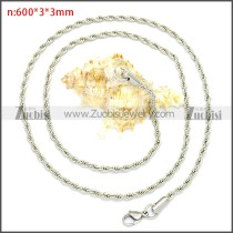 Stainless Steel Chain Neckalce n003086SW3