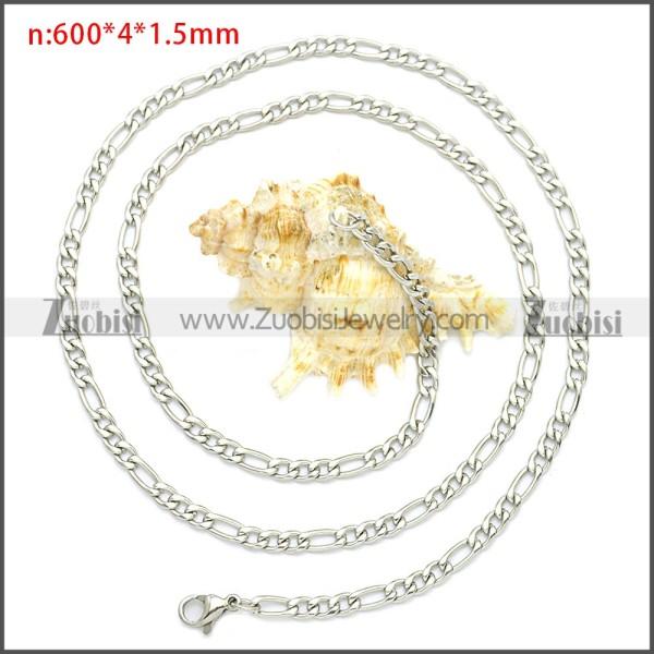Stainless Steel Chain Neckalce n003087SW4