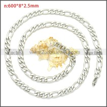Stainless Steel Chain Neckalce n003087SW8