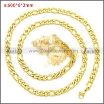 Stainless Steel Chain Neckalce n003087GW6