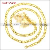 Stainless Steel Chain Neckalce n003087GW5