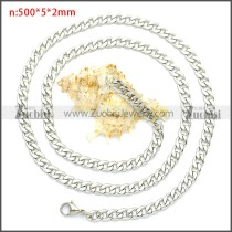 Stainless Steel Chain Neckalce n003090SW5