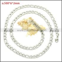 Stainless Steel Chain Neckalce n003092SW6