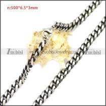 Stainless Steel Chain Neckalce n003117SH