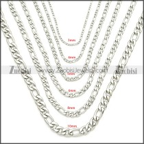 Stainless Steel Chain Neckalce n003087SW10