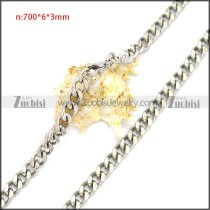 Stainless Steel Chain Neckalce n003116S