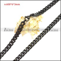 Stainless Steel Chain Neckalce n003115H