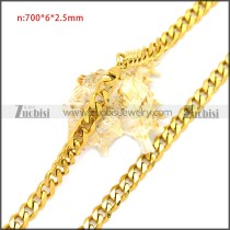 Stainless Steel Chain Neckalce n003119G2