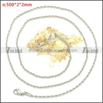 Stainless Steel Chain Neckalce n003096SW2