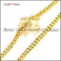 Stainless Steel Chain Neckalce n003117G1