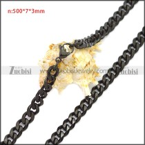 Stainless Steel Chain Neckalce n003117H