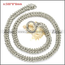 Stainless Steel Chain Neckalce n003101S
