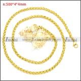 Stainless Steel Chain Neckalce n003094GW4