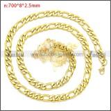 Stainless Steel Chain Neckalce n003093GW8