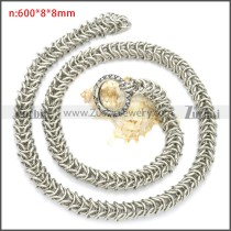Stainless Steel Chain Neckalce n003102S