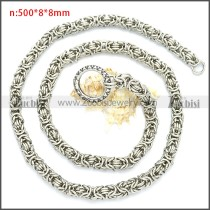 Stainless Steel Chain Neckalce n003107S