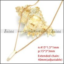 Stainless Steel Chain Neckalce n003110G