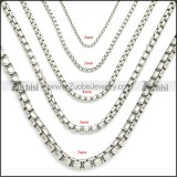 Stainless Steel Chain Neckalce n003088SW7