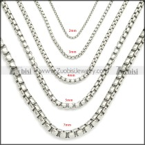 Stainless Steel Chain Neckalce n003089SW7