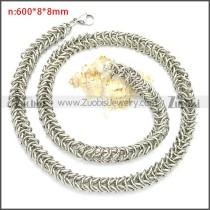 Stainless Steel Chain Neckalce n003099S