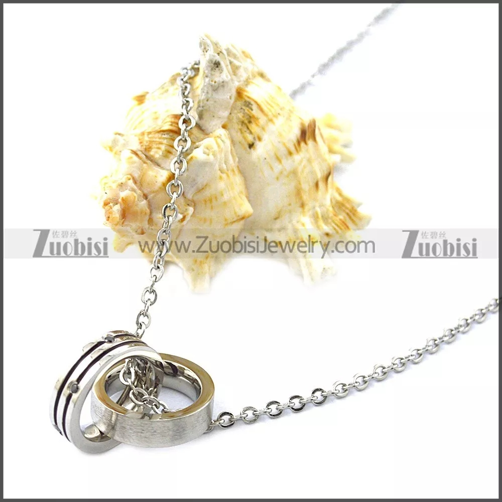 stainless steel chain necklace for ladies