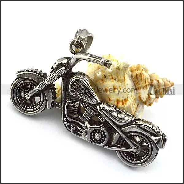 Solid Stainless Steel Motorcycle Pendant for bikers