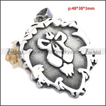 Stainless Steel Pendant p010552SH2
