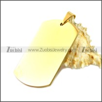 Stainless Steel Pendant p010489G