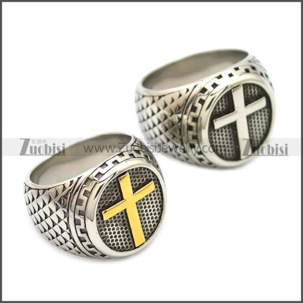 Stainless Steel Ring r008549SH