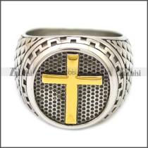 Stainless Steel Ring r008549SHG