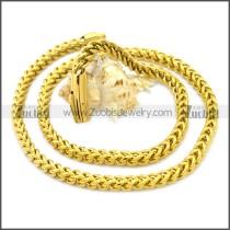 Stainless Steel Chain Neckalce n003129GW6